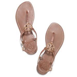Tory Burch Violet Metallic Sandals